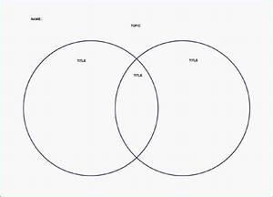 Venn Diagram Template Editable In 2020