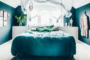 Déco Chambre Bleu Canard : du bleu canard comme fil conducteur ~ Melissatoandfro.com Idées de Décoration