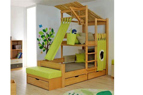 brunos baumhausbett aus massivem buchenholz ist das
