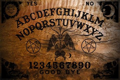 Wallpaper Ouija Board by Ouija Board With Planchette Classic Burnt By