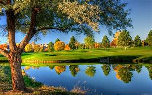 Golf Club Green Nature Place HD Backgrounds Desktop Pictures