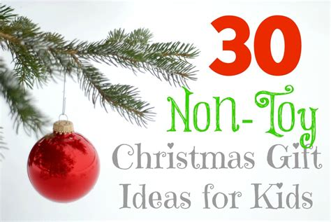 30 Non-toy Christmas Gift Ideas For Kids