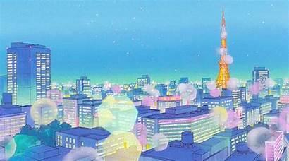 Sailor Moon Scenery Tokyo Aesthetic Anime Pastel