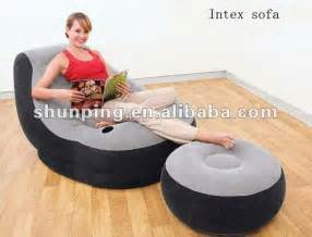 inflatable sofa with footrest set intex 68564 jpg