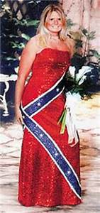 kay triona39s cyber cafe ugly prom dresses With confederate flag wedding dress