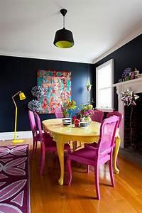 Tisch Und Stühle Kinderzimmer : bunte m bel 30 innendesign ideen mit viel farbe ~ Whattoseeinmadrid.com Haus und Dekorationen