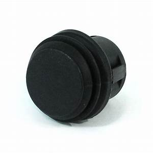 20A On-Off Switch Push Button Black 2P SPST 14VDC - 44103
