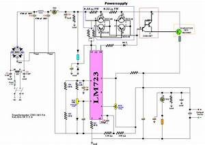 Lm723  Regulated Power Supply 50v 5a
