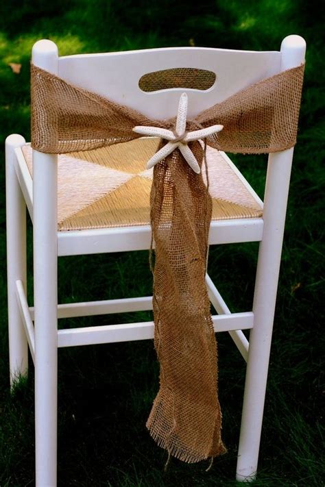 burlap chair sashes burlap chair and chair sashes on