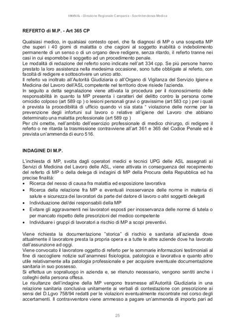 Delitti Perseguibili D Ufficio 106 2016 Inailmalattie Professionali