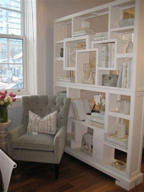 wall divider shelves room dividers white bookshelf used s a room divider 3308
