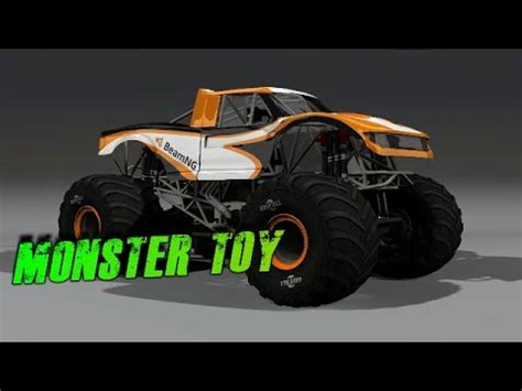 monster truck music videos beamng drive monster truck in the field clips cp