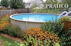 jardin de vivaces autour de la piscine hors terre plate With marvelous quelle plante autour d une piscine 5 quelles plantes autour de la piscine