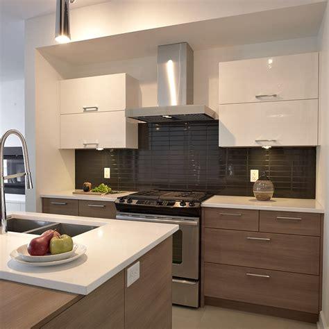 melamine cuisine cuisine style contemporain avec tiroirs de mélamine et