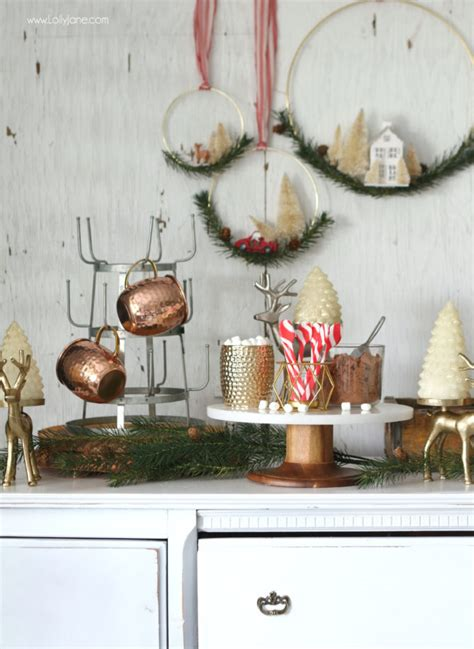 easy hot chocolate station ideas   home lolly jane