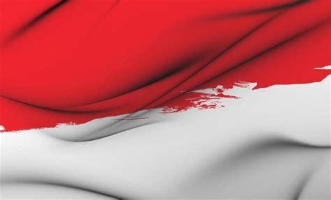 bendera merah putih berkibar lagu indonesia raya