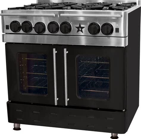 rnbbpmv bluestar precious metals collection  gas range french door oven