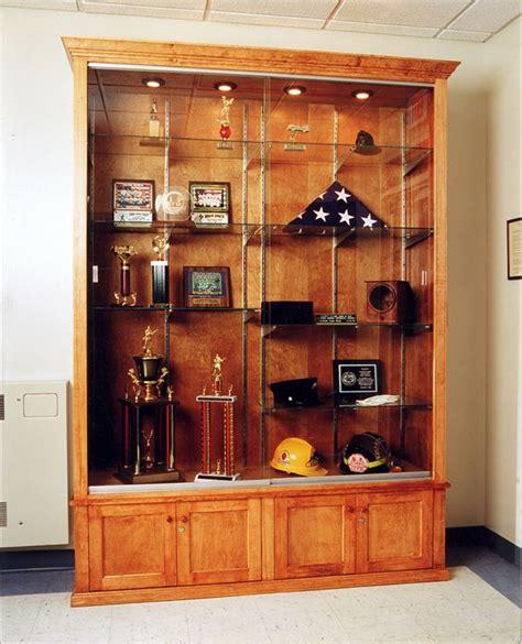Diy Trophy Case Plans  Woodworking Projects & Plans