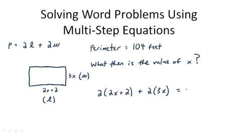 Multistep Equations  Ck12 Foundation