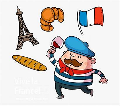 France Clipart French Cartoon Clip Characters Francais