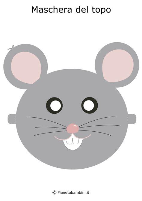 maschere  animali da stampare  ritagliare  bambini