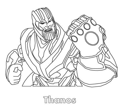thanos coloring pages avengers coloring pages coloring