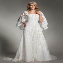 Bohemian Plus Size Wedding Dress