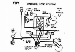 Schematic Of Vacuum Lines On 1980 El Camino