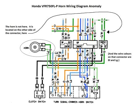 Honda Vfr Wiring Diagram by Are All Rc36 Horn Circuit Wiring Diagrams Wrong