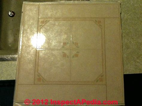 How to Identify Amitco Floor Tiles That May Contain Asbestos