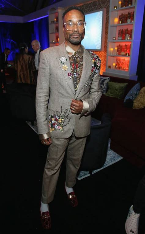 Billy Porter From Golden Globes After Party Pics