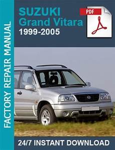 Suzuki Grand Vitara 1999 2000 2001 2002 2003 2004 2005