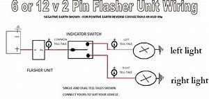 Wiring Diagram For 2 Pin Flasher Relay