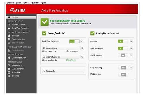 baixar gratuito do software antivirus vista home basic