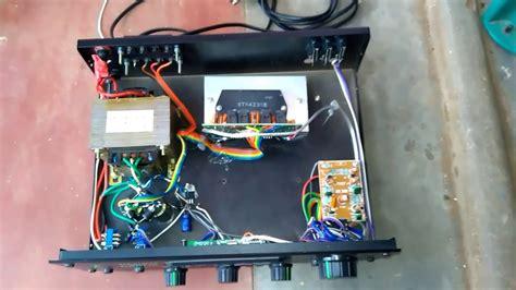 Stk Stereo Amplifier Youtube