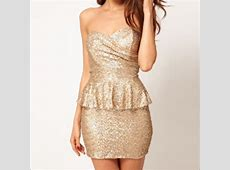 43% off ASOS Dresses & Skirts Asos Sequin Peplum dress