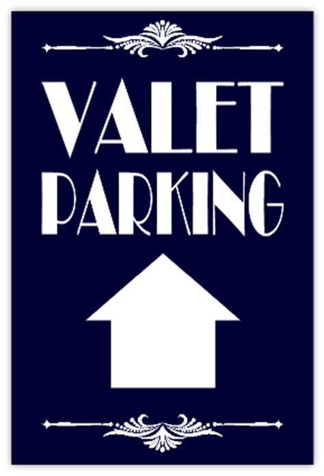 valet parking sidewalk sign  parking sidewalk sign templates templates click
