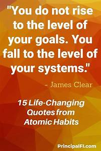 15 fi quotes from atomic habits by clear habit