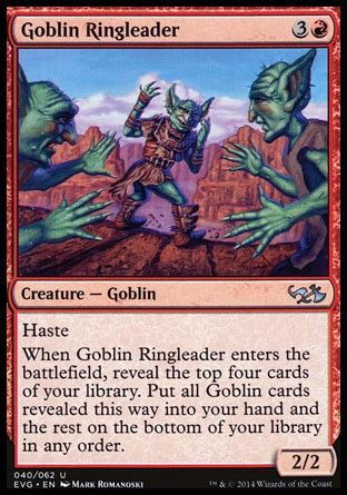 mtg tribal decks of merfolk goblins and mono red dragons