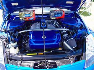 Nissan 350z Engine Bay