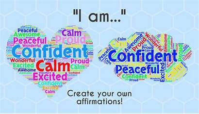Affirmations Create Own Confidence