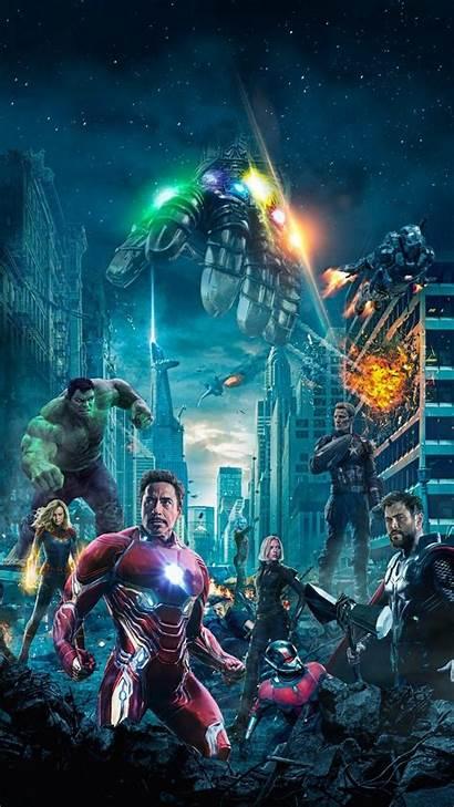 Avengers Wallpapers Endgame Marvel Poster End Battle