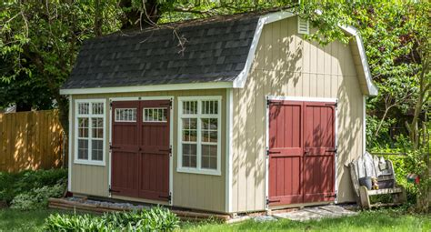 Amish Barn by Awesome Looking Premier Barns Portable Amish Sheds