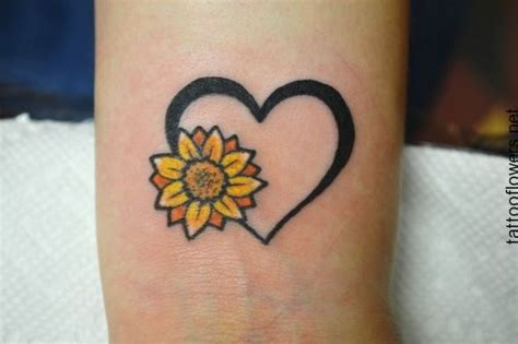 pin  sabrina   ink wrist tattoos sunflower