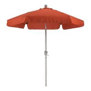 shop brick garden patio umbrella common 7 5