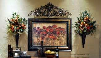 tuscan bathroom decorating ideas world floral arrangements dahlia wall floral