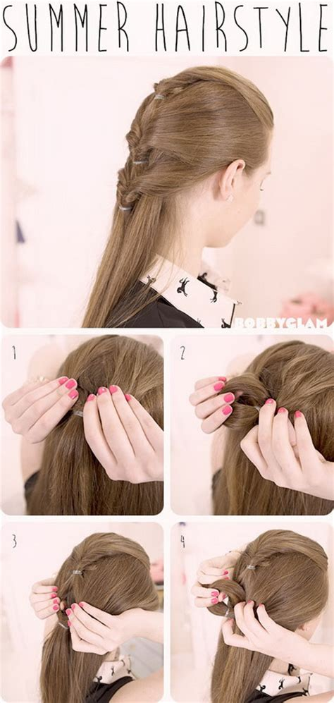 cool easy hairstyles for long hair