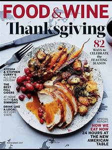 which food magazine has the best thanksgiving cover eater With cuisine magasin