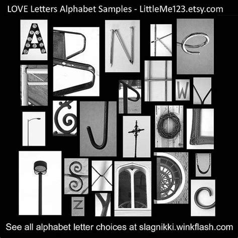 original love letters alphabet photography  littleme