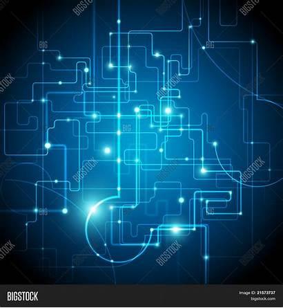 Circuit Vector Board Background Tech